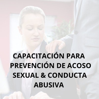 Employee seminars in Spanish - Sexual harassment prevention training