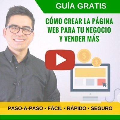 seminarios virtuales - crear un sitio web